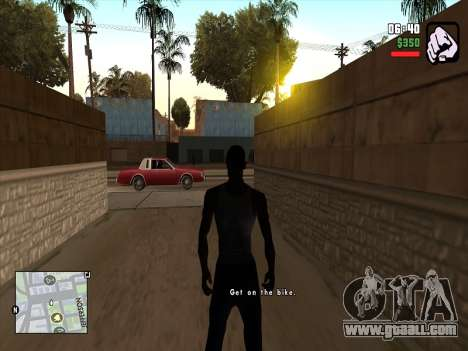 Mobile C-HUD for GTA San Andreas
