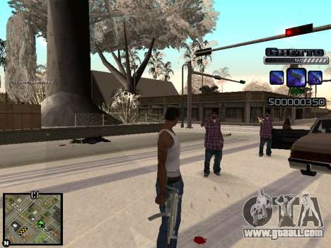 С-HUD GHETTO for GTA San Andreas