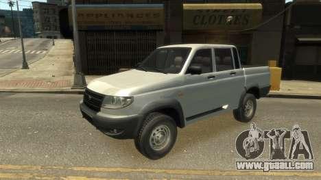 UAZ Patriot Pickup v.2.0 for GTA 4