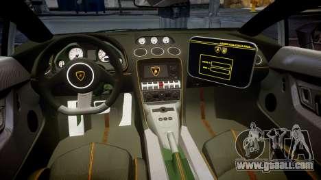 Lamborghini Gallardo LP570-4 LCPD [ELS] for GTA 4 back view