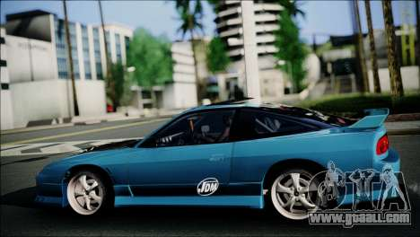 Nissan 180SX for GTA San Andreas right view