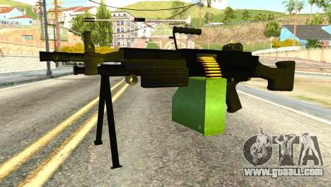 M249 Machine Gun for GTA San Andreas