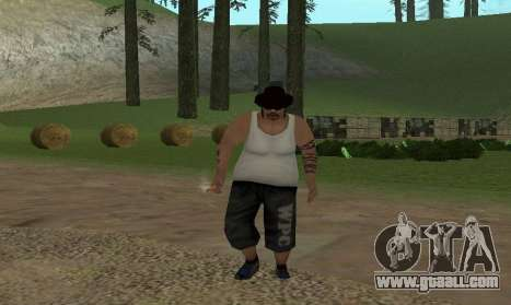 Realistic gait for GTA San Andreas