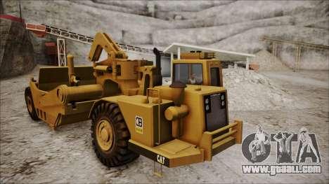 Caterpillar 631D for GTA San Andreas