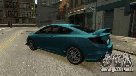 Honda Civic Si 2013 v1.0 for GTA 4 right view