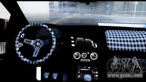 Mitsubishi Eclipce for GTA San Andreas back view