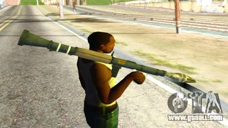Rocket Launcher from GTA 5 for GTA San Andreas third screenshot