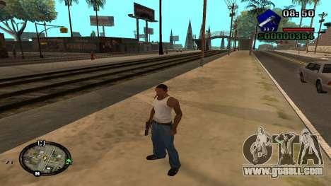C-HUD by Kidd for GTA San Andreas forth screenshot