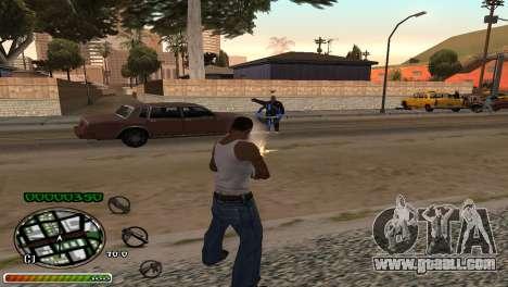 C-HUD Wonderful for GTA San Andreas