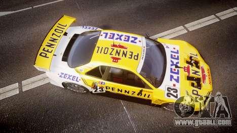 Nissan Skyline R34 2003 JGTC Pennzoil for GTA 4