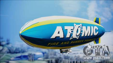 Blimp Atomic for GTA San Andreas