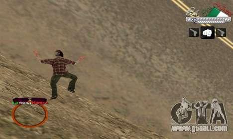 C-HUD LCN for GTA San Andreas third screenshot