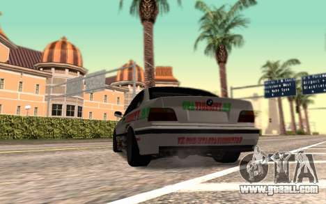 BMW M3 E36 VCDT for GTA San Andreas back left view