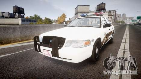 Ford Crown Victoria LCSO [ELS] MX7000 for GTA 4