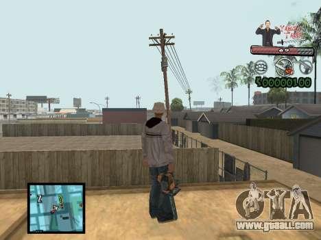 C-Hud Yakuza II for GTA San Andreas second screenshot