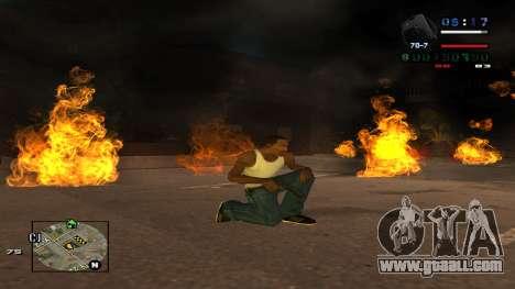 C-HUD Politra for GTA San Andreas third screenshot