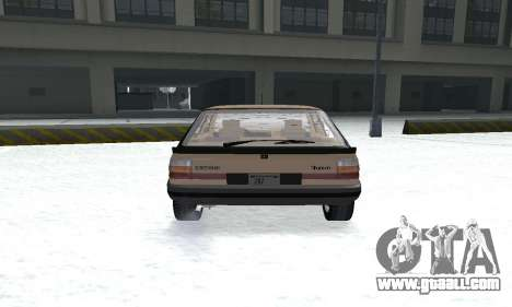 Renault 11 Turbo Phase I 1984 for GTA San Andreas back view
