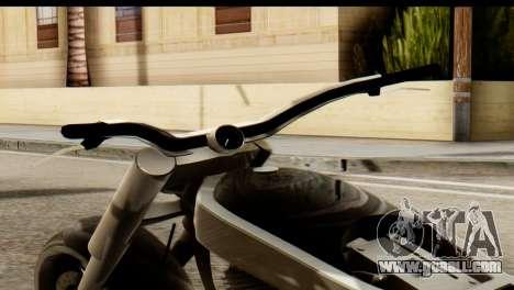 Innovation GTA 5 for GTA San Andreas back left view