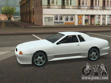 Elegy ODA for GTA San Andreas back left view