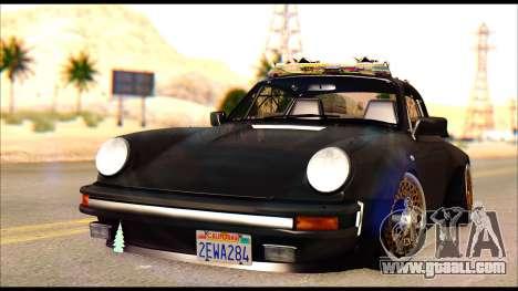 Porsche 911 1980 Winter Release for GTA San Andreas