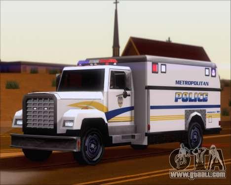 Enforcer Metropolitan Police for GTA San Andreas