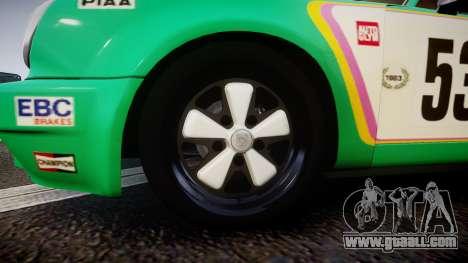 Porsche 911 Carrera RSR 3.0 1974 PJ53 for GTA 4 back view