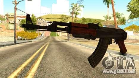 AK47 from Global Ops: Commando Libya for GTA San Andreas