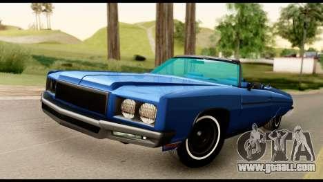 Chevy Caprice 1975 Beta v3 for GTA San Andreas