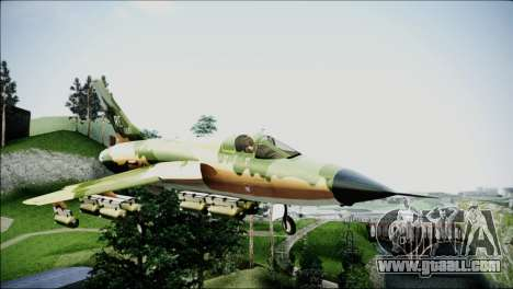 F-105 Thunderchief Polish Glider for GTA San Andreas