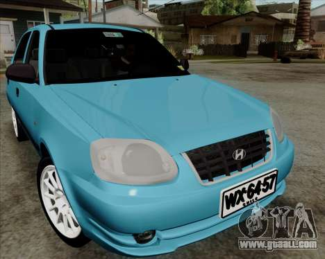 Hyundai Accent 2004 for GTA San Andreas