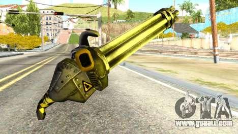 Minigun from Redneck Kentucky for GTA San Andreas second screenshot