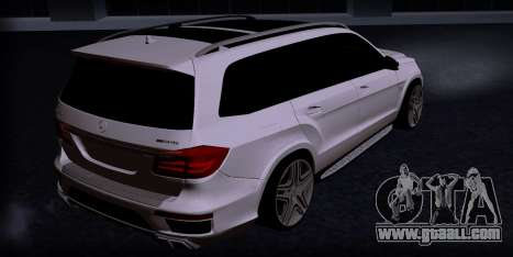 Mercedes GL500 for GTA San Andreas left view