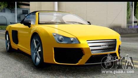 GTA 5 Obey 9F Cabrio IVF for GTA San Andreas