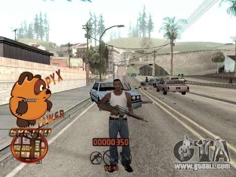 C-HUD PYX TAWER GHETTO for GTA San Andreas