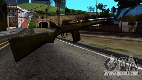 New Rifle for GTA San Andreas second screenshot
