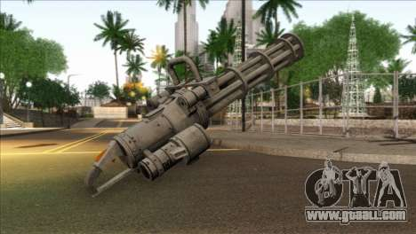 Minigun from GTA 5 for GTA San Andreas second screenshot