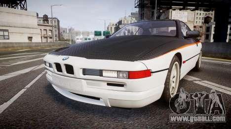 BMW E31 850CSi 1995 [EPM] Carbon for GTA 4