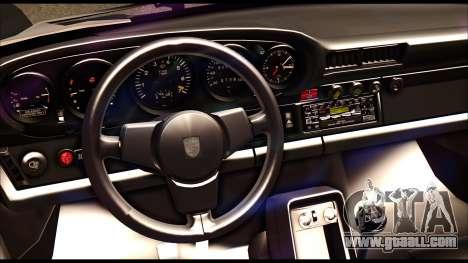Porsche 911 1980 Winter Release for GTA San Andreas inner view