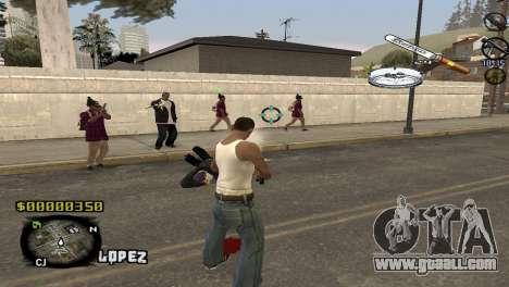 C-HUD Sigara for GTA San Andreas second screenshot