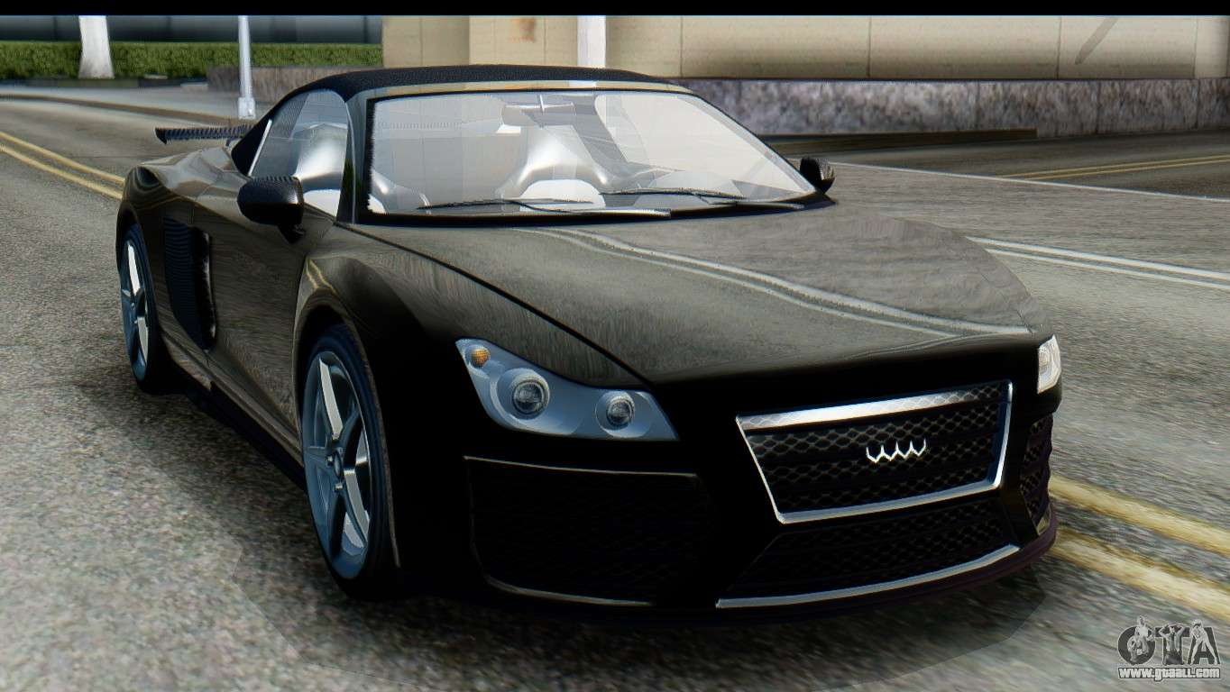 GTA 5 Obey 9F Cabrio SA Mobile for GTA San Andreas