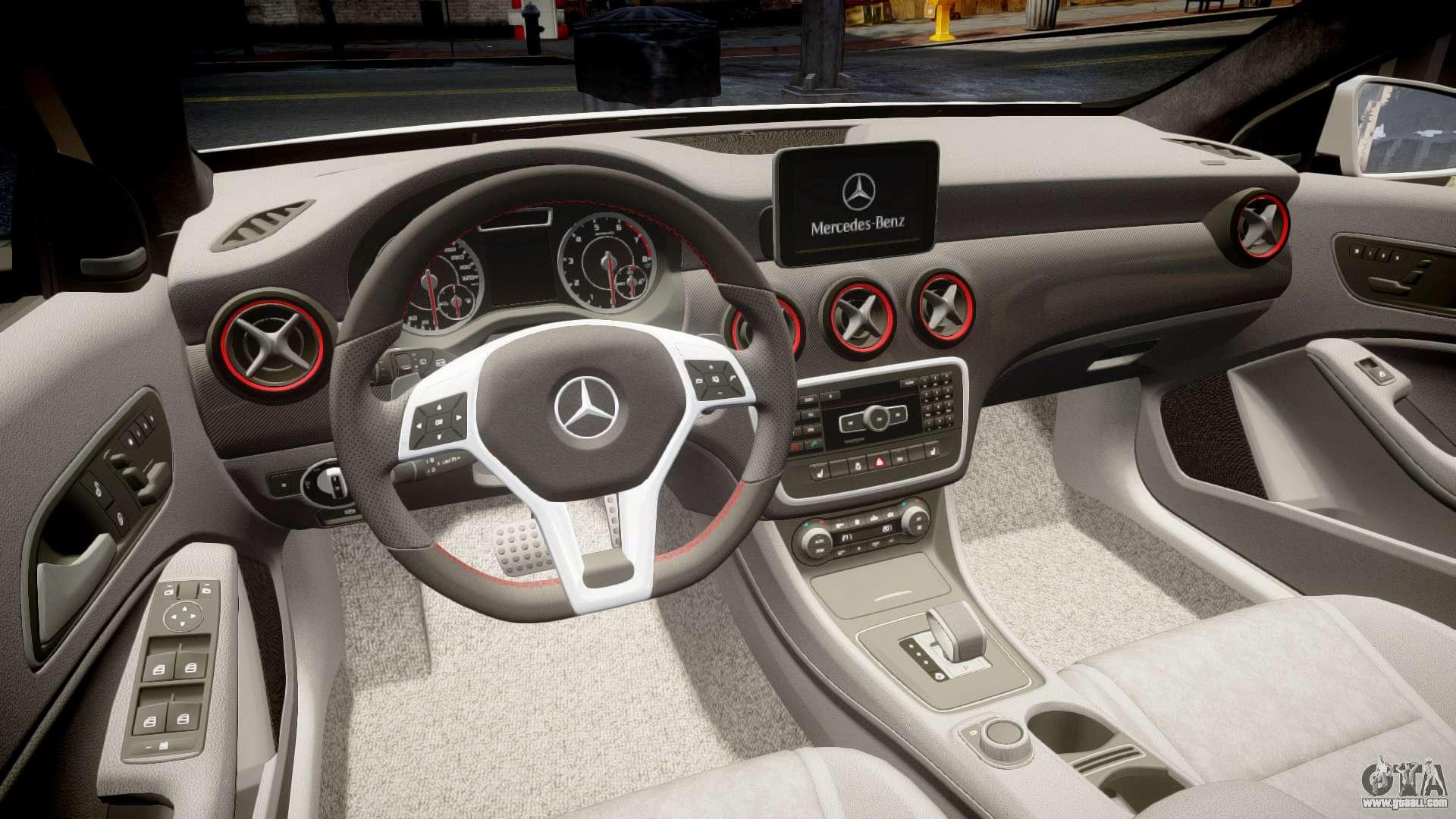 Mersedes Benz A45 Amg Pjs4 For Gta 4