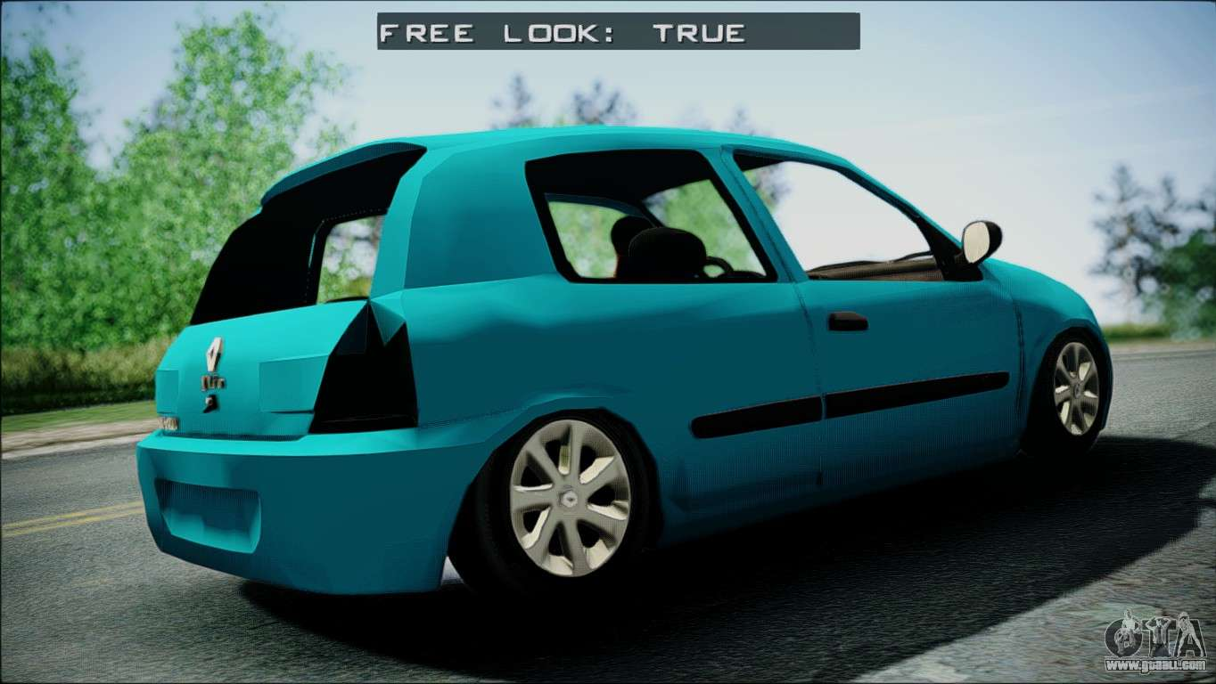 renault clio beta v1 for gta san andreas. Black Bedroom Furniture Sets. Home Design Ideas