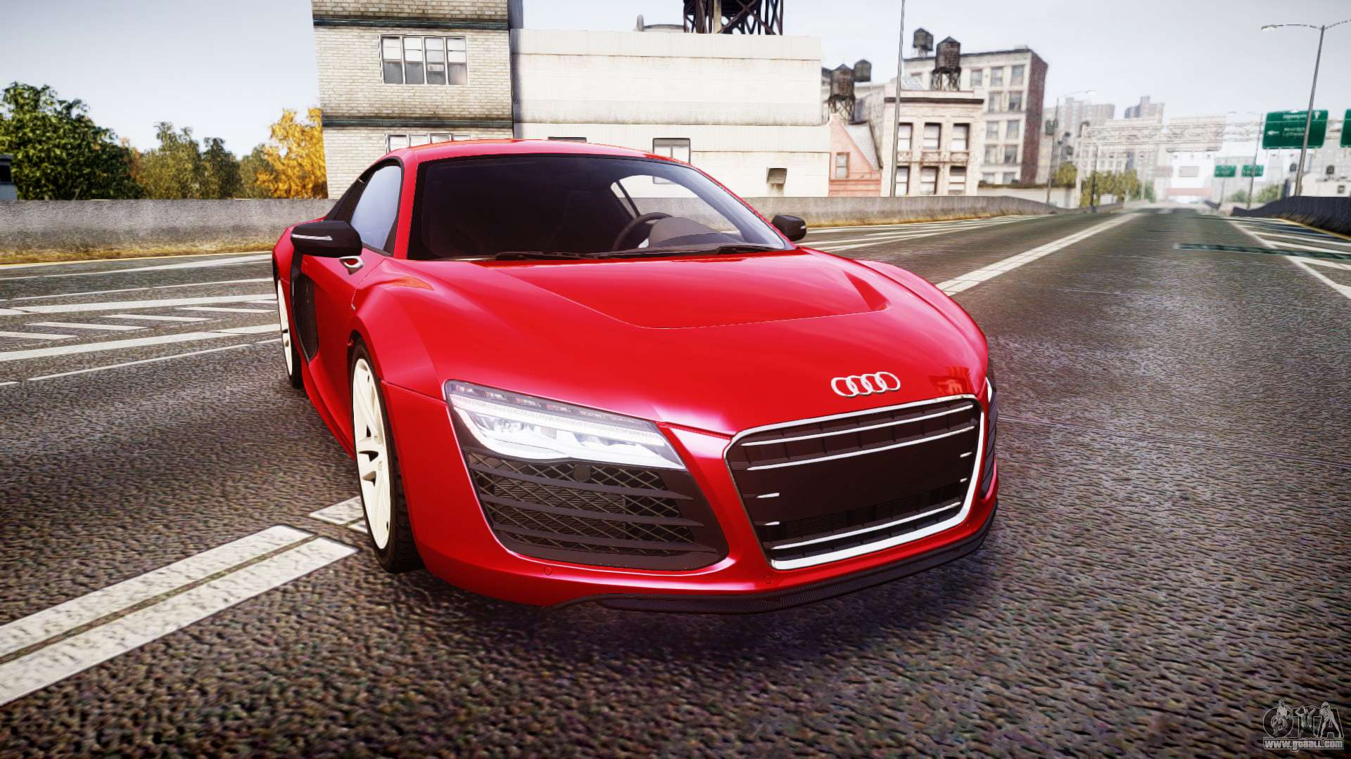 audi r8 e tron 2014 for gta 4. Black Bedroom Furniture Sets. Home Design Ideas