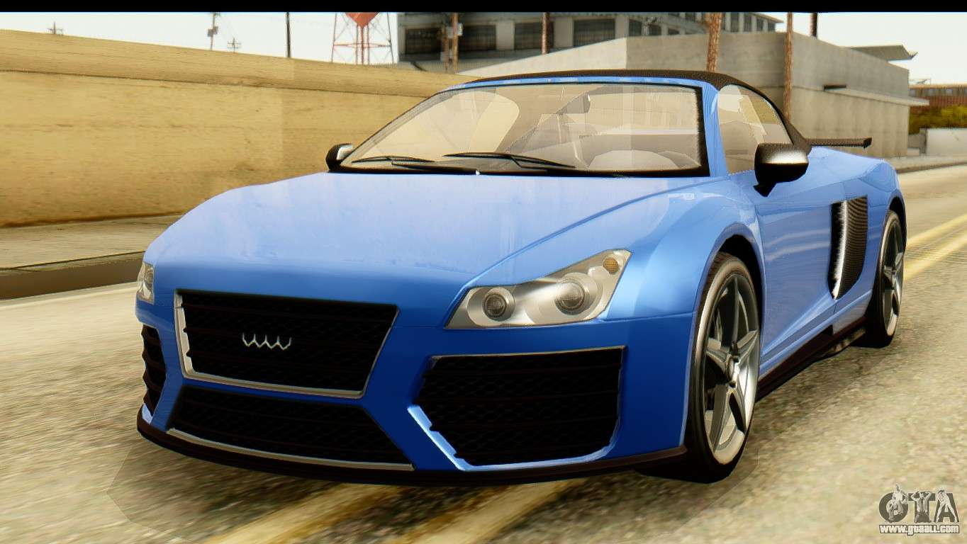 GTA 5 Obey 9F Cabrio for GTA San Andreas
