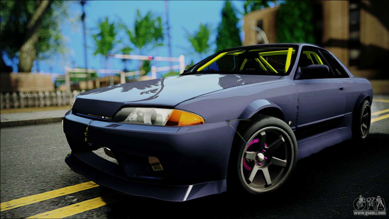 7 Passenger Vehicles >> Nissan Skyline GT-S R32 for GTA San Andreas