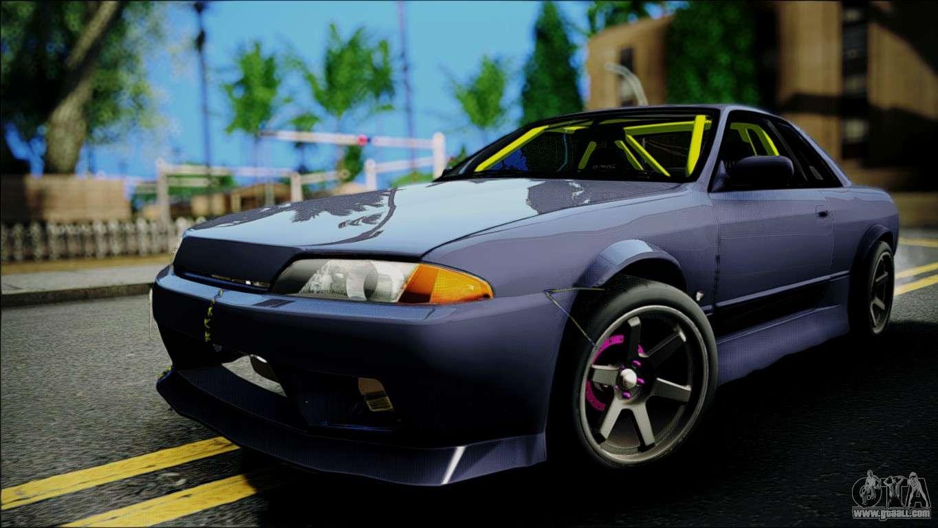Nissan Skyline Gt S R32 For Gta San Andreas