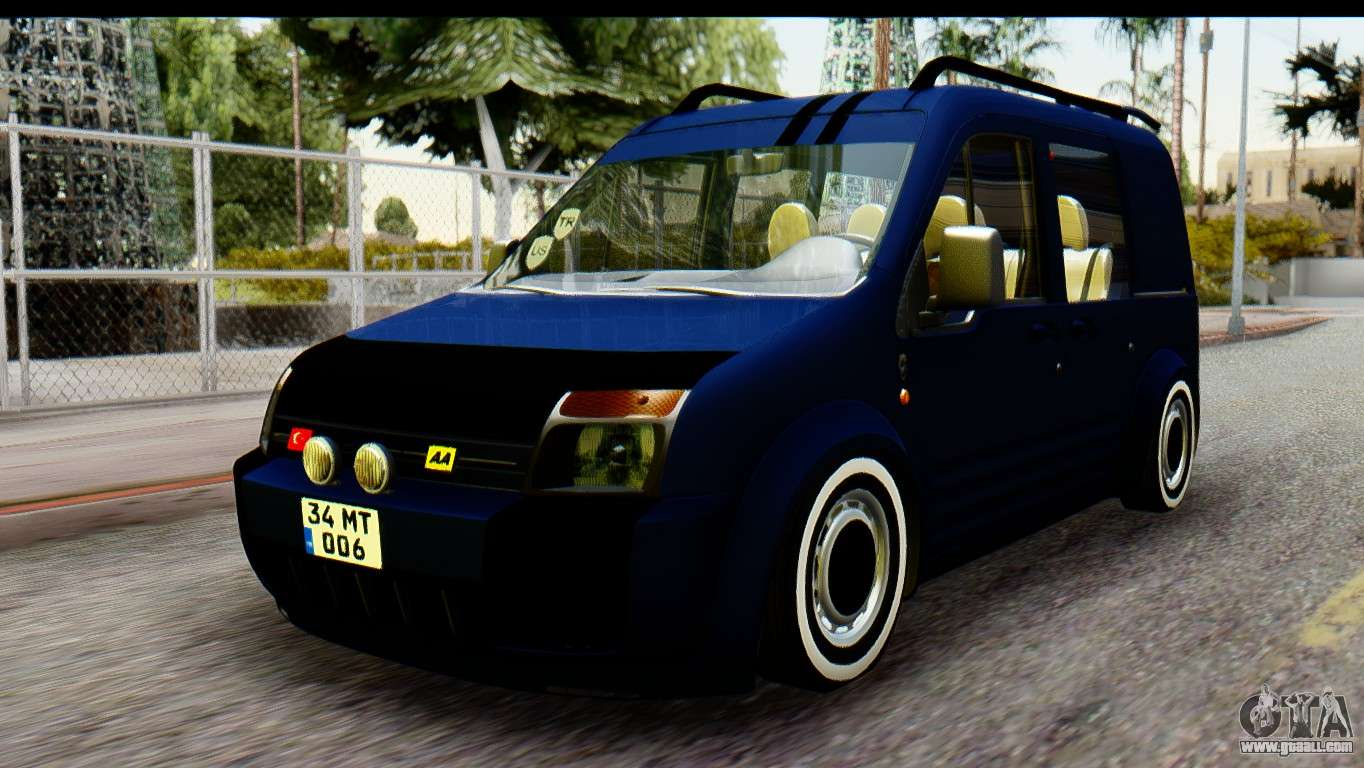 Ford Transit Tourneo Connect Camli Van For Gta San Andreas