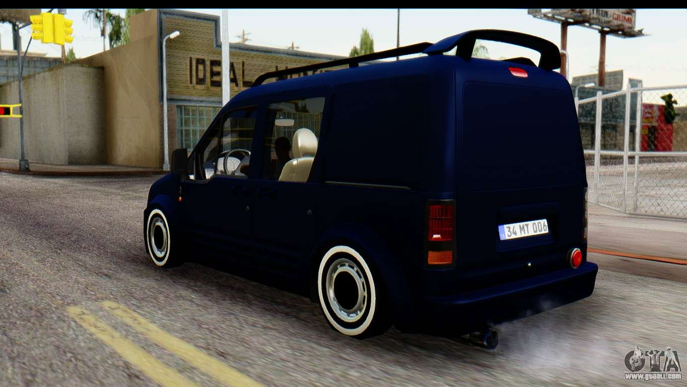 ford transit tourneo connect camli van for gta san andreas. Black Bedroom Furniture Sets. Home Design Ideas