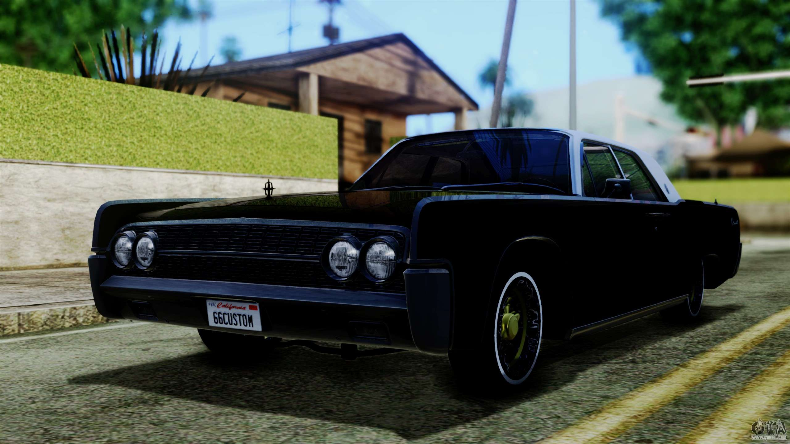 lincoln continental for gta san andreas. Black Bedroom Furniture Sets. Home Design Ideas