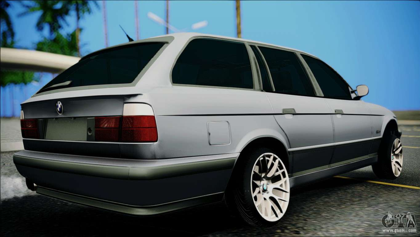 bmw m5 e34 wagon for gta san andreas. Black Bedroom Furniture Sets. Home Design Ideas